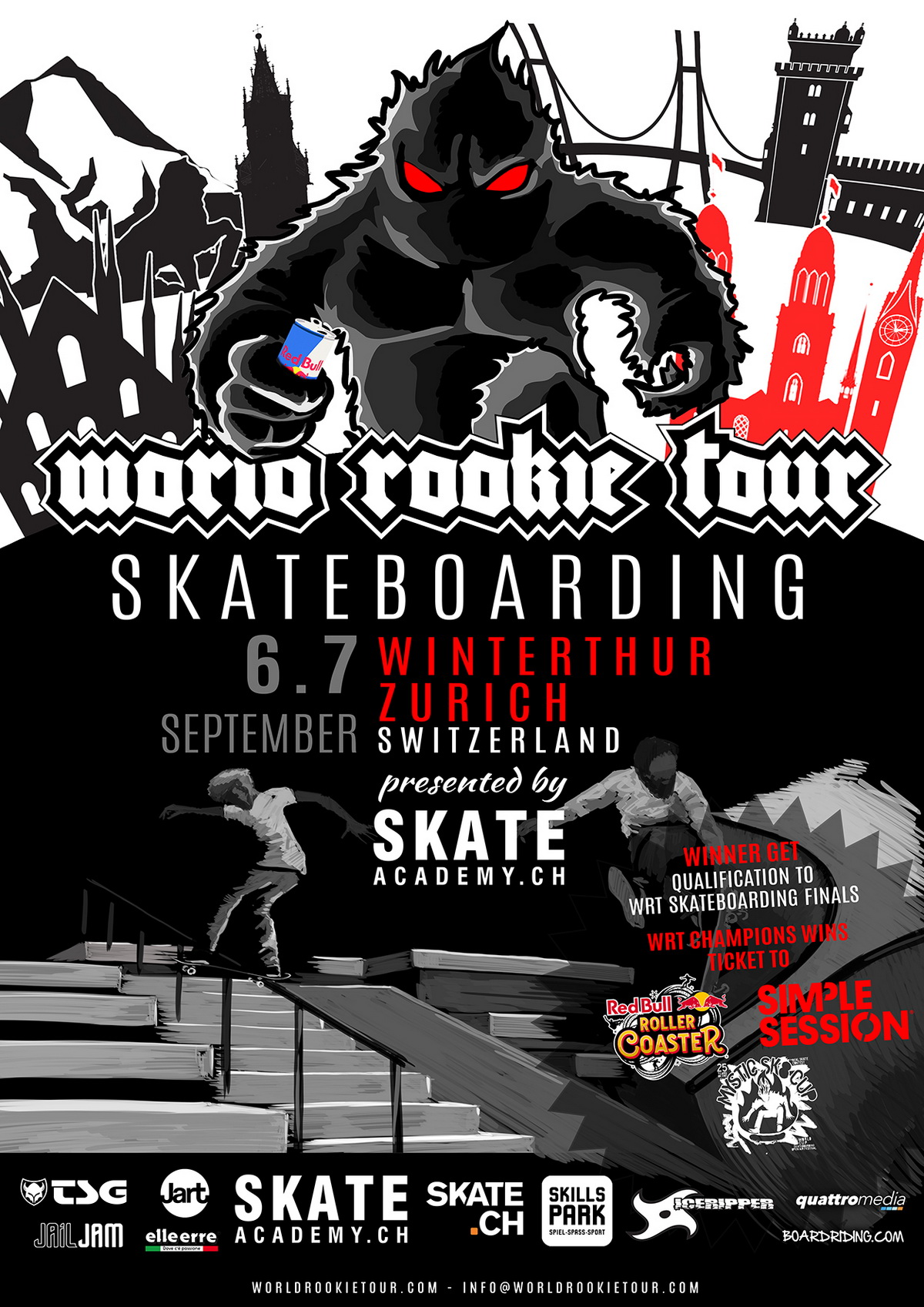 All info for WRT Skate stop in Swiss - World Rookie Tour